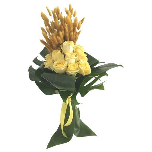 Bouquet Arrasa Corações Amarelo