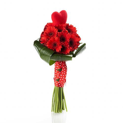 Bouquet de Gerberas com Coração