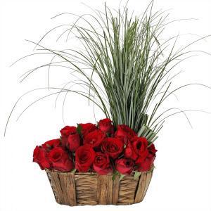 Cesto de Rosas Amor