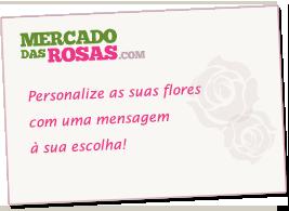Envio de flores com mensagem personalizada