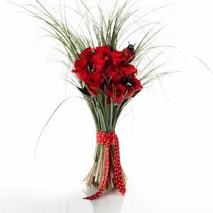 Bouquet de Rosas com Joaninha