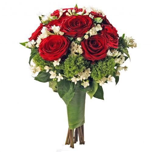Bouquet Coração Apaixonado c/ branco