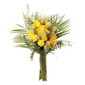 Bouquet de Rosas Amarelas Premium