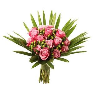 Bouquet de Rosas Cor de Rosa Premium