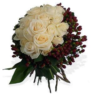Bouquet de Rosas Marfim Premium