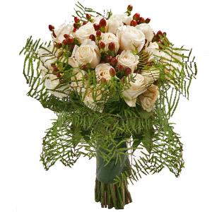 Bouquet de Rosas Marfim