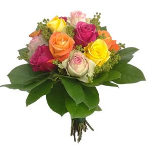 Bouquet de Rosas Multicolor Premium