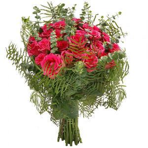 Bouquet de Rosas Rosa Fuchsia