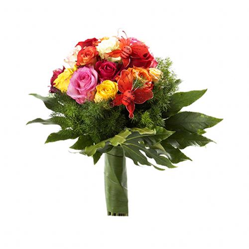 Bouquet Premium com Borboletas de Amor