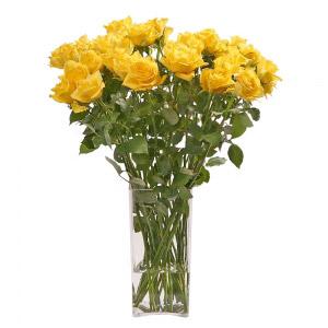 Jarra de Rosas Amarelas